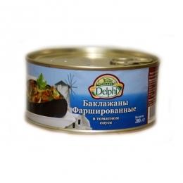 """Баклажаны фаршированные в томатном соусе """"Delphi"""""""
