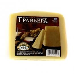 """Cыр Гравьера """"Delphi"""" из пастеризованного овечьего и козьего молока"""
