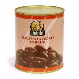 Маслины Каламата с косточкой и без косточки в рассоле 121/140 шт на кг