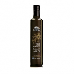 Масло оливковое Delphi Kalamatas EV Olive Oil нерафинированное, 500мл