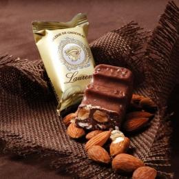 Молочный шоколад Монако (Monako) миндаль и нуга 100г