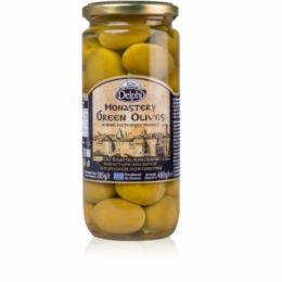 Оливки с косточкой в рассоле Монастырские DELPHI 480г.