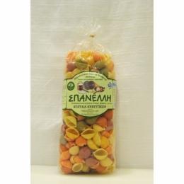 Ракушки овощные вегетарианские Spanelli 500г