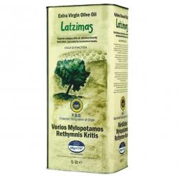 Оливковое масло Латзимас Latzimas extra virgin 5л