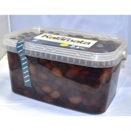 Оливки (Маслины) Каламата, в рассоле, 2,4 кг.