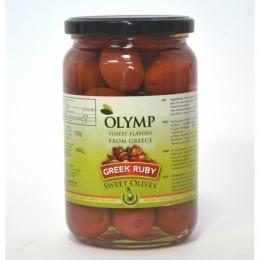 Оливки супергигант с косточкой в рассоле ТМ OLYMP 400г