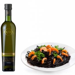 Масло оливковое экстра вирджине Премиум бленд AURA 500 мл