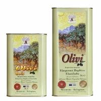 Масло оливковое первый холодный отжим Olivi 5л