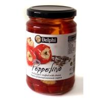 Красный сладкий перец фаршированный сыром Delphi Peppelino 290г