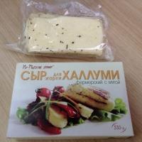 Сыр Халлуми фермерский с мятой 330г
