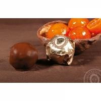 Мандари в чёрном шоколаде 100гр
