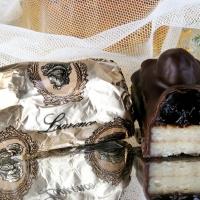 Молочный шоколад с марципаном и вишней (Wild Cherry) 100г