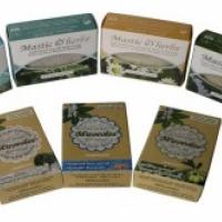 Оливковое Мыло с мастикой, травами и морскими водорослями, 125 гр