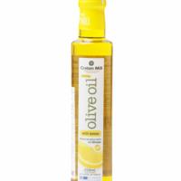 Масло оливковое Extra Virgin с лимоном CRETAN MILL 0,25л