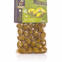 Оливки зеленые с косточкой ASTIR 250г