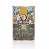 Оливки без косточки в рассоле DELPHI 400г.