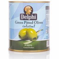 Оливки без косточки в рассоле DELPHI Colossal 121-140 820г