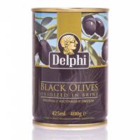 Маслины с косточкой в рассоле DELPHI Superior 261-290 400г