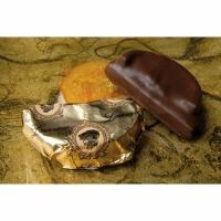 Молочный шоколад с марципаном и апельсином TM Laurence 100г