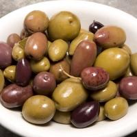 Микс из оливок и маслин (2,4 кг. х 2) в оливковом масле
